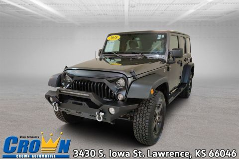Pre-Owned 2018 Jeep Wrangler JK Unlimited Sport S Convertible