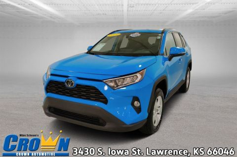 Pre-Owned 2019 Toyota RAV4 XLE Sport Utility