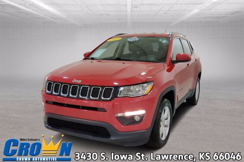 Pre-Owned 2019 Jeep Compass Latitude Sport Utility
